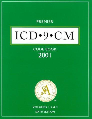 2001 Professional Icd-9-Cm: Vols 1-3: St. Anthony's, Ingenix Publishing