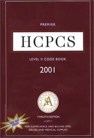 9781563297267: St. Anthony's Premier HCPCS Level II Code Book, 2001
