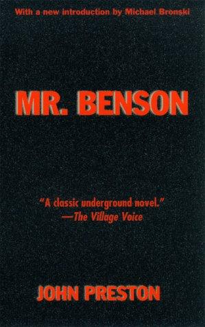 Mr. Benson: John Preston
