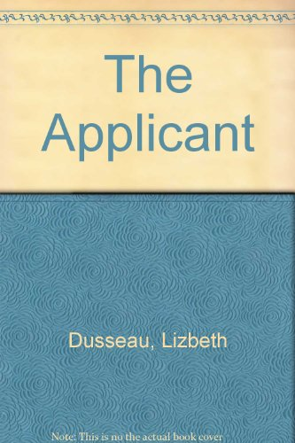 9781563336706: The Applicant