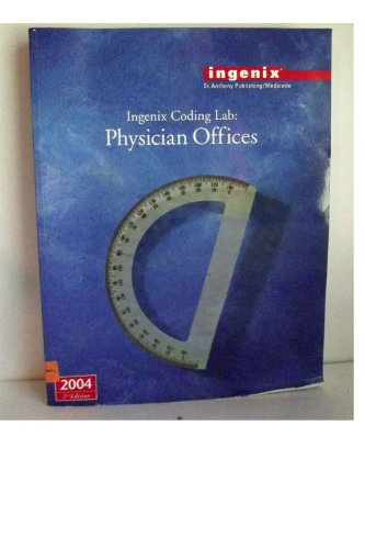 9781563374340: Ingenix Coding Lab: Physician Offices 2004