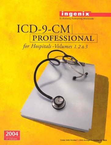 9781563374784: ICD-9-CM Professional for Hospitals, Volumes 1, 2 & 3--2004