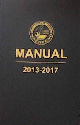 9781563447815: Iglesia Nazareno MANUAL 2013-2017