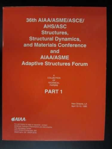 36th Structures Structural Dynamics and Materials Conference/Cp952: Aiaa