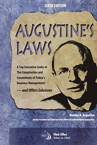 Augustine's Laws, Sixth Edition: N. Augustine, Chairman