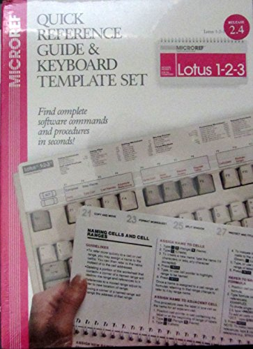 9781563511677: Lotus 1-2-3/Release 2.4 (Quick Reference Guide and Keyboard Template Set)