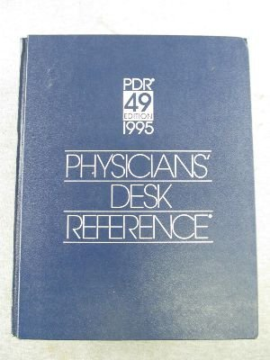 9781563630873: 1995 Physicians' Desk Reference/Library Hospital Edition