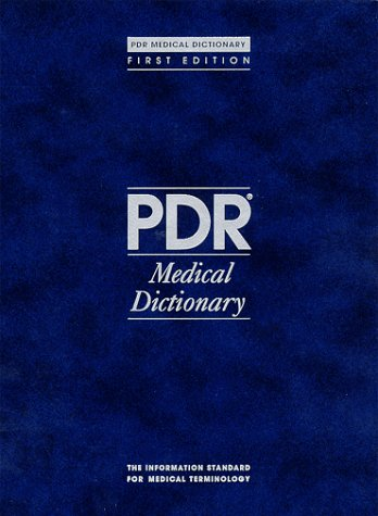 Pdr Medical Dictionary Edition 1995 (1st ed): Medical Economics