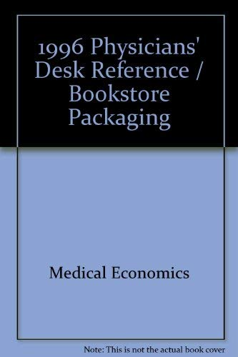 9781563631566: 1996 Physicians' Desk Reference / Bookstore Packaging