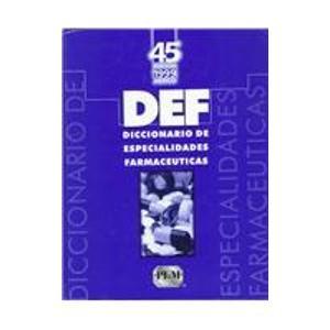 9781563633256: Diccionario de Especialidades (Diccionario De Especialidades Farmaceuticas)