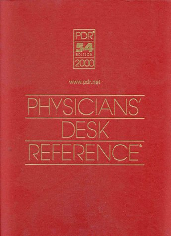 9781563633300: Physicians' Desk Reference 2000