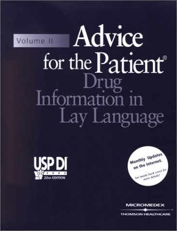 Advice for the Patient Drug Information in