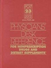 9781563634178: Physicians's Desk Reference For Nonprescription Drugs and Dietary Supplements