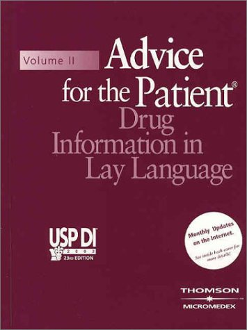 9781563634307: Usp Di 2003, Volume II: Advice for the Patient: Drug Information in Lay Language (Book with Passcode (USP DI: v.2 Advice for the Patient)