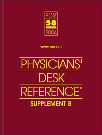 9781563634734: Pdr 58th Edition Supplement A