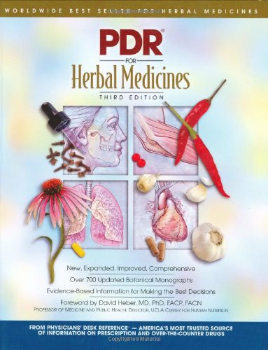 PDR for Herbal Medicines (Physicians' Desk Reference: PDR