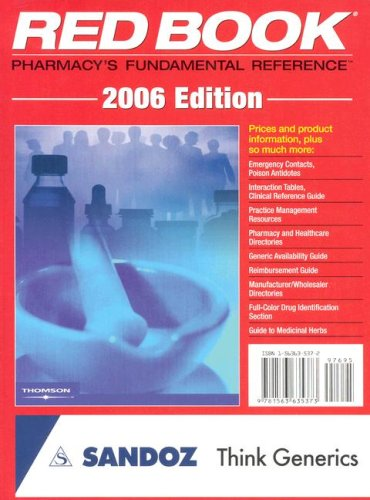9781563635373: 2006 Redbook: Pharmacy's Fundamental Reference (RED BOOK DRUG TOPICS)