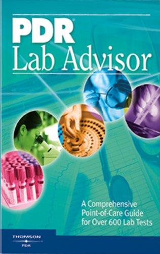 PDR Lab Advisor (Pdr Lab Advisor) (Pdr: PDR, Thomson