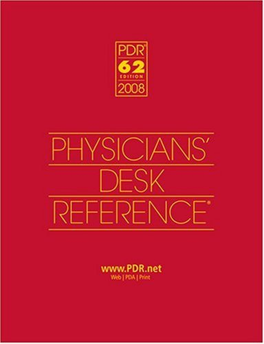 9781563636608: 2008 Physicians' Desk Reference (Library/Hospital Version)
