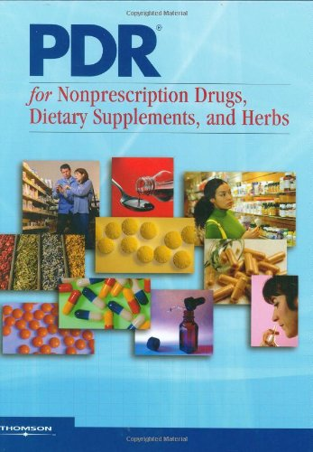9781563636622: PDR for Nonprescription Drugs, Dietary Supplements and Herbs 2008 (Physicians' Desk Reference for Nonprescription Drugs)