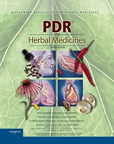 PDR for Herbal Medicines, 4th Edition: Thomson Healthcare