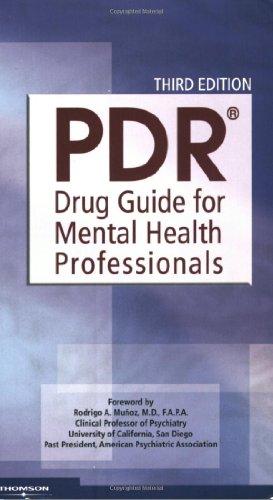 PDR Drug Guide for Mental Health Professionals,