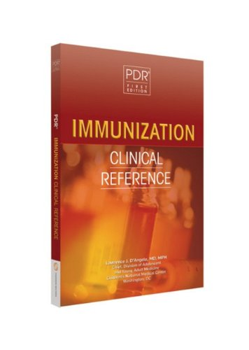 9781563637322: PDR Immunization Clinical Reference (PDR Clinical Handbooks)