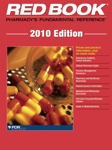 Red Book 2010 (Red Book Drug Topics): Pdr
