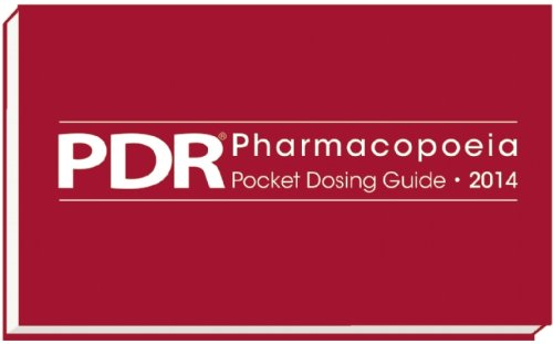 9781563638213: PDR Pharmacopoeia Pocket Dosing Guide 2014