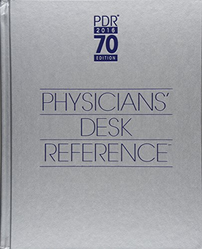 9781563638343: 2016 Physicians' Desk Reference, 70th Edition