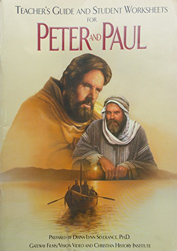 9781563641855: Peter and Paul Study Guide: