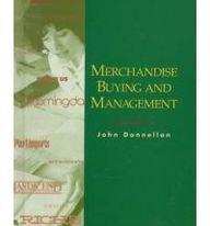 Merchandise Buying and Management: John Donnellan