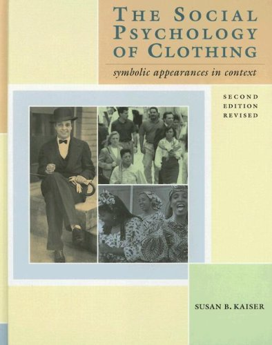 9781563671074: Social Psychology of Clothing: Symbolic Appearances in Context