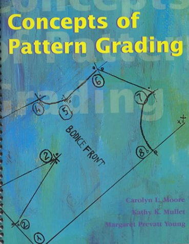 9781563672101: Concepts of Pattern Grading: Techniques for Manual and Computer Grading