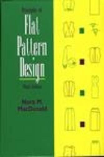 Principles of Flat Pattern Design: Nora A. MacDonald