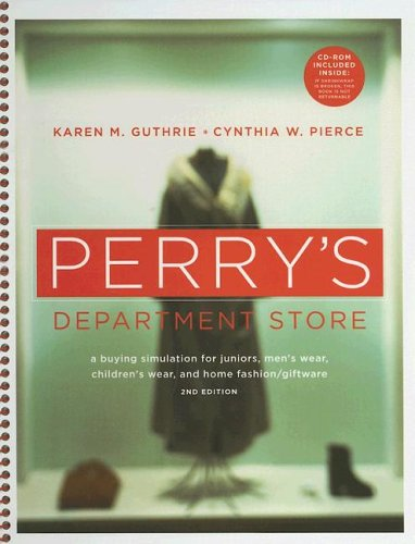 9781563672958: Perry's Department Store: A Buying Simulation for Juniors, Men's Wear, Children's Wear, and Home Fashion/Giftware