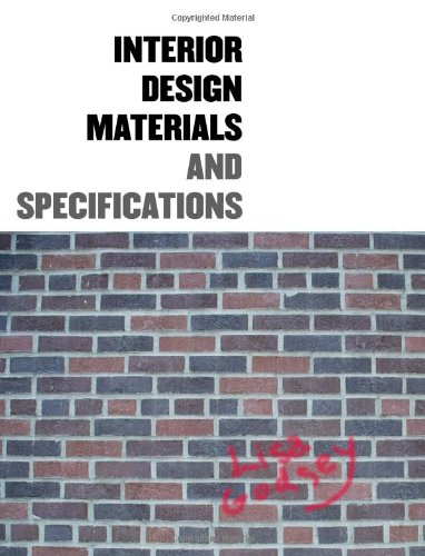 9781563674877 Interior Design Materials And Specifications