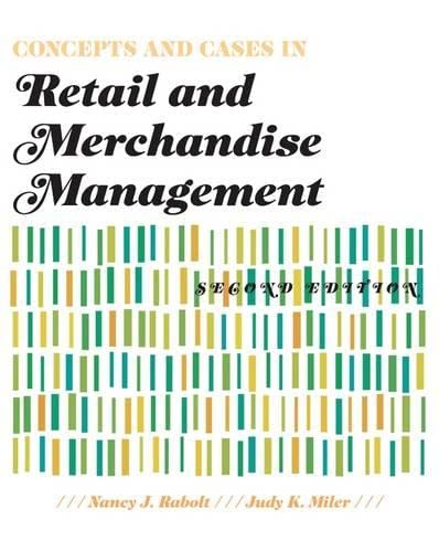 9781563676000: Concepts and Cases in Retail and Merchandise Management 2nd Edition