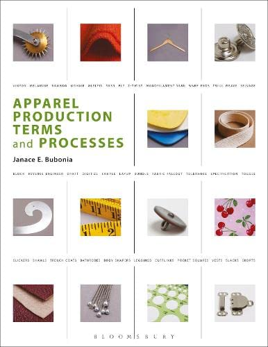 9781563677625: Apparel Production Terms and Processes