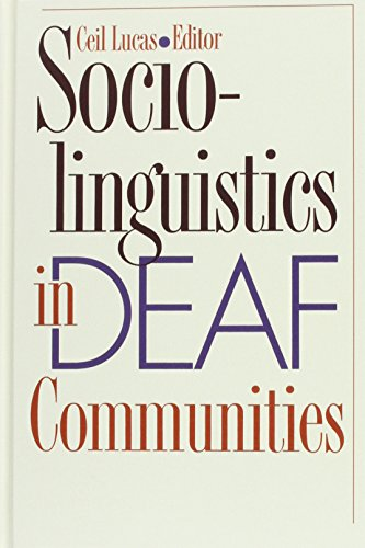 9781563680366: Sociolinguistics in Deaf Communities: Vol 1