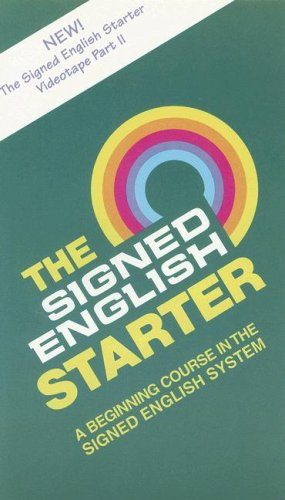 9781563680403: The Signed English Starter Part II Video [VHS]