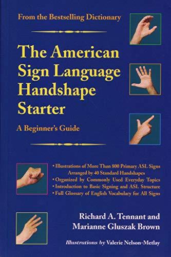 9781563681301: The American Sign Language Handshape Starter: A Beginner's Guide