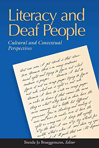 9781563682711: Literacy and Deaf People: Cultural and Contextual Perspectives