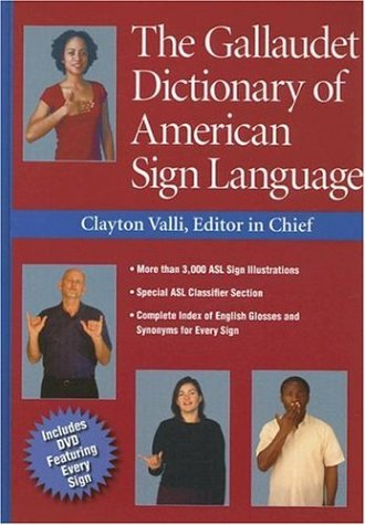 9781563682827: The Gallaudet Dictionary of American Sign Language
