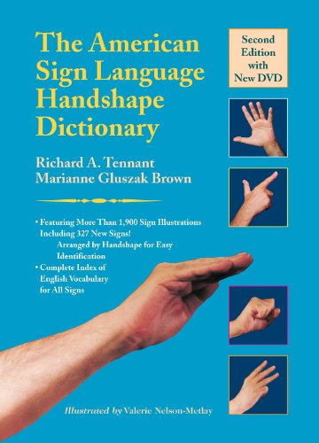 9781563684449: The American Sign Language Handshape Dictionary