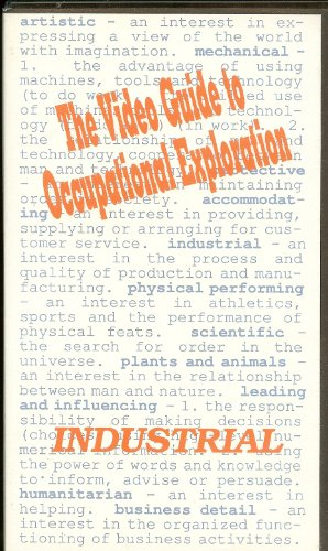9781563702228: Physical Performing Careers: The JIST Video Guide for Occupational Exploration [VHS]