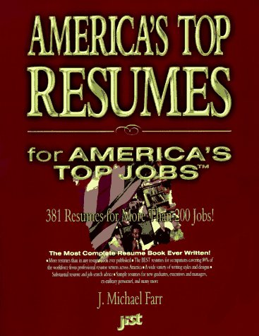 9781563702884 Americas Top Resumes for Americas Top Jobs