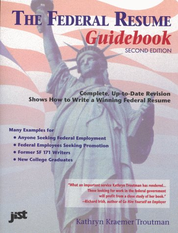 9781593574260 federal resume guidebook strategies for writing a