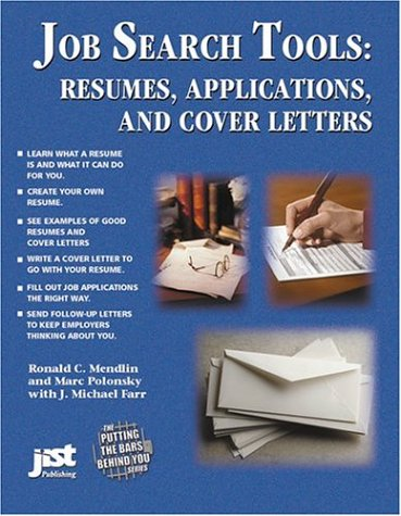 9781563707025: Job Search Tools: Resumes, Applications, and Cover Letters
