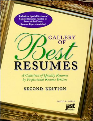 9781593578589: Gallery of Best Resumes: A Collection of Quality ...
